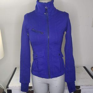 LULULEMON athletic It's Happening Jacket Size 4